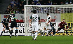 13.11.2010, Volkswagen Arena, Wolfsburg, GER,1.FBL, VfL Wolfsburg vs FC Schalke 04, im Bild Tor zum 2 zu 0 durch Edin Dzeko (Wolfsburg #9).EXPA Pictures © 2010, PhotoCredit: EXPA/ nph/  Schrader+++++ ATTENTION - OUT OF GER +++++
