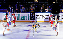 16.09.2012, Amphitheater, Pula, CRO, EBEL, Ice Fever, KHL Medvescak Zagreb vs UPC Vienna Capitals, 04. Runde, im Bild Josh Soares, (UPC Vienna Capitals, #97) // during the Erste Bank Icehockey League 04th Round match betweeen KHL Medvescak Zagreb and UPC Vienna Capitals at the Amphitheater, Pula, Croatia on 2012/09/16. EXPA Pictures © 2012, PhotoCredit: EXPA/ Pixsell/ ATTENTION - OUT OF CRO, SRB, MAZ, BIH and POL *****