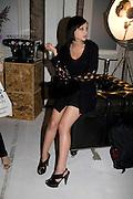 LEAH WELLER, Visa Swap launch party. No1 The Piazza. Covent Garden. London. 16 July 2008.  *** Local Caption *** -DO NOT ARCHIVE-© Copyright Photograph by Dafydd Jones. 248 Clapham Rd. London SW9 0PZ. Tel 0207 820 0771. www.dafjones.com.