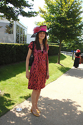 AINHOA DEWISME at the 4th day of the Glorious Goodwood racing festival 2007 held at Goodwood Racecourse, West Sussex on 3rd August 2007.<br /><br />NON EXCLUSIVE - WORLD RIGHTS