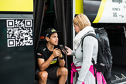 Jhoan Esteban Chaves Rubio (COL) of Mitchelton - Scott before 5th Stage of 26th Tour of Slovenia 2019 cycling race between Trebnje and Novo mesto (167,5 km), on June 23, 2019 in Slovenia. Photo by Peter Podobnik / Sportida