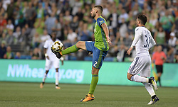 September 27, 2017 - Seattle, WASHINGTON, U.S - The Sounders CLINT DEMPSEY (2) in action as the Vancouver Whitecaps visit the Seattle Sounders for an MLS match at Century Link Field in Seattle, WA. (Credit Image: © Jeff Halstead via ZUMA Wire)
