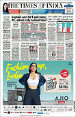 October 01, 2021 - ASIA-PACIFIC: Front-page: Today's Newspapers In Asia-Pacific