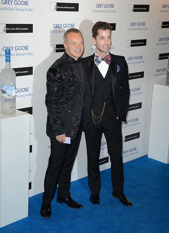 Graham Norton attends the Grey Goose Winter Ball to benefit the Elton John Aids Foundation held at the Battersea Powerstation, London, UK. 10/11/2012 Anne-Marie Michel/CatchlightMedia