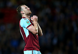 Ashley Barnes of Burnley reacts after missing a chance - Mandatory by-line: Matt McNulty/JMP - 23/08/2017 - FOOTBALL - Ewood Park - Blackburn, England - Blackburn Rovers v Burnley - Carabao Cup - Second Round