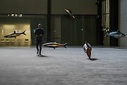 The Hyundai Commission 2016: Philippe Parreno (pictured) in Tate Modern's Turbine Hall runs from 4 October 2016 to 2 April 2017. Philippe Parreno. Parreno is a French artist who creates kaleidoscopic environments and choreographed spaces, in which a series of unique events and experiences unfold. A key artist of his generation, his work uses sound, light, film, sculpture and technology.