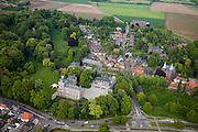 Nederland, Limburg, Gemeente gemeente Schinnen, 27-05-2013; dorp en kasteel Amstenrade<br /> Village and castle Amstenrade.<br /> luchtfoto (toeslag op standaardtarieven);<br /> aerial photo (additional fee required);<br /> copyright foto/photo Siebe Swart.