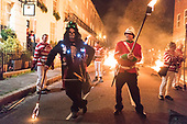 LEWES BONFIRE Guy Fawkes UK Brexitland