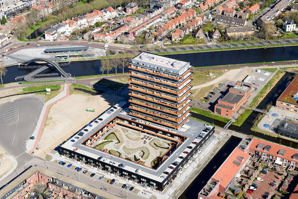 Nederland, Noord-Holland, Gemeente Purmerend, 20-04-2015; Weidevenne,  Vinex-locatie uit 2007.<br /> New quarter, urban expansion of small town near Amsterdam.<br /> luchtfoto (toeslag op standard tarieven);<br /> aerial photo (additional fee required);<br /> copyright foto/photo Siebe Swart
