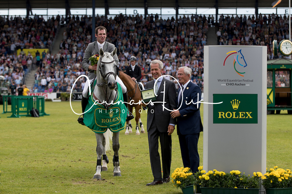 Weishaupt Philipp, (GER), LB Convall<br /> Winners of the Rolex Grand Prix<br /> CHIO Aachen 2016<br /> © Hippo Foto - Dirk Caremans<br /> 17/07/16