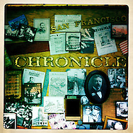 Between our trips to New York and Pennsylvania, we also made a trip to visit our dear friend at the San Francisco Chronicle. This is a board full of history in the newsroom at The Chronicle, where Craig spoke to a group of journalists about his Pulitzer Prize-winning work.