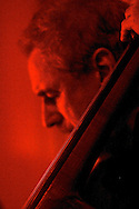 Brazilian bassist Nilson Matta performs with Mark Morganelli's Brasil Project at the Art Academy of Westchester in Dobbs Ferry.