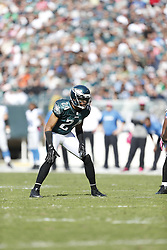 Philadelphia Eagles cornerback Nnamdi Asomugha (24) during the NFL game between the Detroit Lions and the Philadelphia Eagles on Sunday, October 14th 2012 in Philadelphia. The Lions won 26-23 in Overtime. (Photo by Brian Garfinkel)