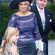 NLD/Apeldoorn/20130105 - Huwelijk prins Jaime en prinses Viktoria Cservenyak, koning Willem - Alexander en konining Maxima