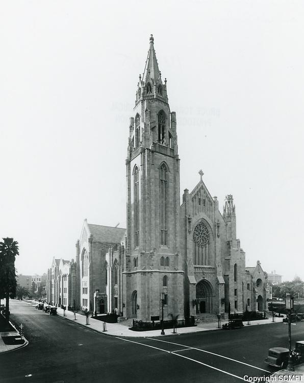 1933 Immanuel Presbyterian Church on Wilshire Blvd.
