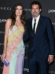 LOS ANGELES, CA, USA - NOVEMBER 03: 2018 LACMA Art + Film Gala held at the Los Angeles County Museum of Art on November 3, 2018 in Los Angeles, California, United States. 03 Nov 2018 Pictured: Michelle Alves, Guy Oseary. Photo credit: Xavier Collin/Image Press Agency/MEGA TheMegaAgency.com +1 888 505 6342