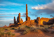 Monument Valley, Totem Pole and Yei Bi Chei , Arizona