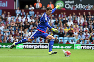 Sunderland goalkeeper Costel Pantilimon in action. Barclays Premier League match, Aston Villa v Sunderland at Villa Park in Birmingham, Midlands on Saturday 29th August  2015.<br /> pic by Andrew Orchard, Andrew Orchard sports photography.