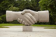 Handshake Statue, Elephant Trunk Hill Park, Guilin, China