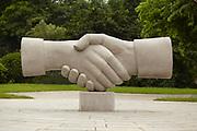 Handshake Statue, Elephant Trunk Hill Park, Guilin, China