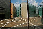Berlino: the centre of Nordic Embassies near Tiergaarten
