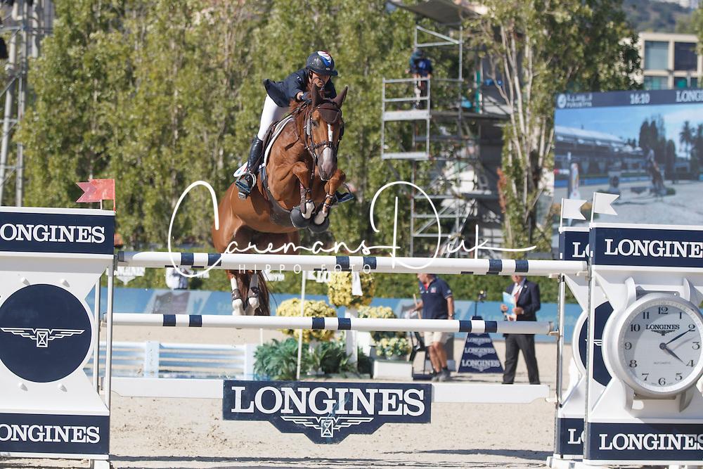 Leprevost Penelope, (FRA), Flora de Mariposa <br /> First Round<br /> Furusiyya FEI Nations Cup Jumping Final - Barcelona 2015<br /> © Dirk Caremans<br /> 24/09/15