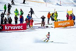 Kaja Norbye (NOR) during giant slalom race at FIS European Cup Krvavec 2021, February 2, 2021 in Krvavec, Cerklje na Gorenjskem, Slovenia. Photo by Matic Klansek Velej / Sportida
