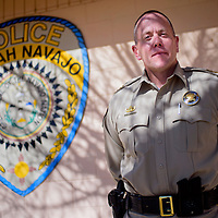 020515       Cable Hoover<br /> <br /> Former New Mexico State Police officer Darren Soland recently took over as the Ramah Navajo Chief of Police.