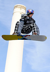29.10.2011, Battersea Power Station, London GBR, FIS Snowboard Worldcup, Relentless Freeze Festival, im Bild FIS World Cup 2012 Heat 1,Seppe SMITS, of BEL // during FIS Snowboard Worldcup at Relentless Freeze Festival in London, United Kingdom on 29/10/2011. EXPA Pictures © 2011, PhotoCredit: EXPA/ TNT Sports/ Nick Tapsell +++++ ATTENTION - OUT OF ENGLAND/GBR +++++