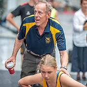 2:30 PM- Concept2 #29- Women?s 500m U15<br /> <br /> NZ Indoor Champs, raced at Avanti Drome, Cambridge, New Zealand, Saturday 23rd November 2019 © Copyright Steve McArthur / @rowingcelebration www.rowingcelebration.com