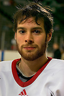 2/4/06 -- Omaha, Ne.University of Nebraska at Omaha's Bill Thomas, who is currently tied for the lead in goals scored in the nation..(Photo by Chris Machian/Prarie Pixel Group).