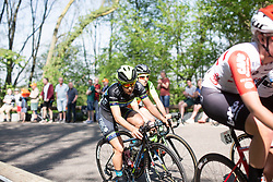 Shannon Malseed (AUS) of Tibco-Silicon Valley Bank Cycling Team rides at the back of the early break during the Amstel Gold Race - Ladies Edition - a 126.8 km road race, between Maastricht and Valkenburg on April 21, 2019, in Limburg, Netherlands. (Photo by Balint Hamvas/Velofocus.com)