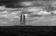 Vimy Ridge WW1 Canadian National Memorial and Battlefield, Vimy, France. February 2014<br /> The memorial took monument designer Walter Seymour Allward eleven years to build.<br /> <br /> The Battle of Vimy Ridge in the First World War 1914-1918 was a military engagement fought primarily as part of the Battle of Arras, in the Nord-Pas-de-Calais region of France, during the First World War. The main combatants were the Canadian Corps, of four divisions, against three divisions of the German Sixth Army. The battle, which took place from 9 to 12 April 1917, was part of the opening phase of the British-led Battle of Arras, a diversionary attack for the French Nivelle Offensive.<br /> <br /> The objective of the Canadian Corps was to take control of the German-held high ground along an escarpment at the northernmost end of the Arras Offensive. This would ensure that the southern flank could advance without suffering German enfilade fire. Supported by a creeping barrage, the Canadian Corps captured most of the ridge during the first day of the attack. The town of Thélus fell during the second day of the attack, as did the crest of the ridge once the Canadian Corps overcame a salient of considerable German resistance. The final objective, a fortified knoll located outside the town of Givenchy-en-Gohelle, fell to the Canadian Corps on 12 April. The German forces then retreated to the Oppy–Méricourt line.<br /> <br /> Historians attribute the success of the Canadian Corps in capturing the ridge to a mixture of technical and tactical innovation, meticulous planning, powerful artillery support and extensive training, as well as the failure of the German Sixth Army to properly apply the new German defensive doctrine. The battle was the first occasion when all four divisions of the Canadian Expeditionary Force participated in a battle together and thus became a Canadian nationalistic symbol of achievement and sacrifice. A 100 ha (250 acres) portion of the former battleground ser