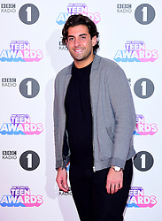 James 'Arg' Argent attending BBC Radio 1's Teen Awards, at the SSE Arena, Wembley, London