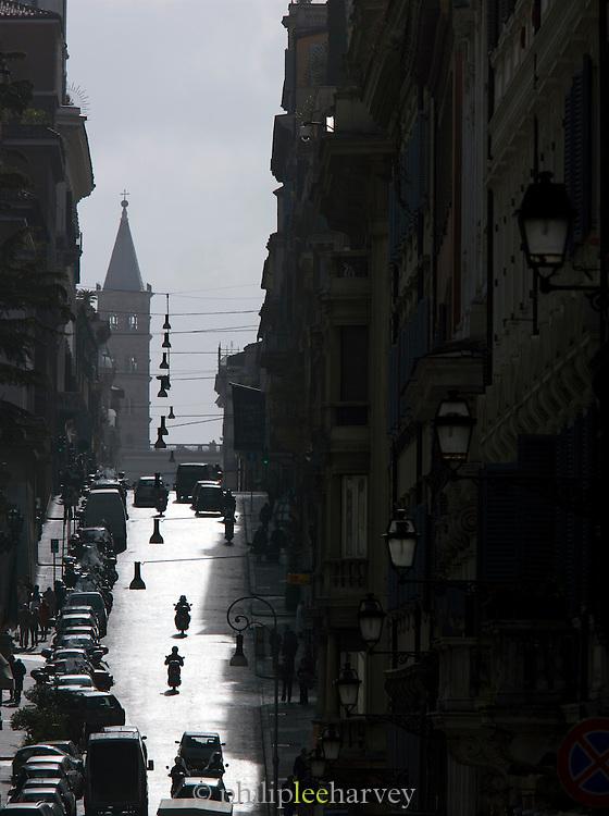 Via Delle Quattro Street Scene, Rome, Italy.