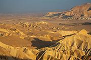 Desert Landscape at Nahal Zin, Negev Israel