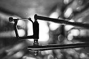Caversham. Berkshire. UK<br /> Oarlock mounted,  2016 GBRowing U23 Trials at the GBRowing Training base near Reading, Berkshire.<br /> <br /> Monday  11/04/2016 <br /> <br /> [Mandatory Credit; Peter SPURRIER/Intersport-images]