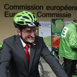 Belgium  - Brussels - 24 March 2010 - EU Sustainable Energy Week 2010 - E-bike race -    © EC/CE