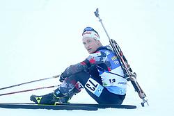 Felix Leitner of Austria during the IBU World Championships Biathlon 20km Individual Men competition on February 17, 2021 in Pokljuka, Slovenia. Photo by Primoz Lovric / Sportida