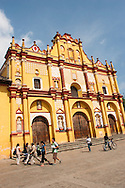 Messico, Chapas, Cattedrale di San Cristobal de las casas.Mexico, chapas,the cathedral of San Cristobal de las casas.