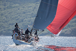 Silvers Marine Scottish Series 2017<br /> Tarbert Loch Fyne - Sailing<br /> FRA35439, Inis Mhor, M Findlay, CCC, Ker 39<br /> <br /> Credit Marc Turner / PFM