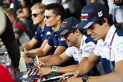 October 1, 2017 - Sepang, Malaysia - Motorsports: FIA Formula One World Championship 2017, Grand Prix of Malaysia, ..#19 Felipe Massa (BRA, Williams Martini Racing), #18 Lance Stroll (CAN, Williams Martini Racing) (Credit Image: © Hoch Zwei via ZUMA Wire)