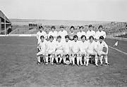 13.08.1972 Football All Ireland Minor Semi Final Cork Vs Galway.Galway Team