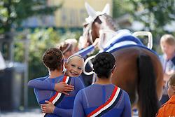 Roy Rogers Team, (NED), CSI Hercules<br /> Squads Compulsory test<br /> FEI European Championships - Aachen 2015<br /> © Hippo Foto - Dirk Caremans<br /> 20/08/15
