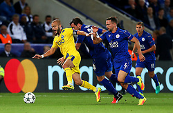 Andre Andre of FC Porto attacks - Mandatory by-line: Matt McNulty/JMP - 27/09/2016 - FOOTBALL - King Power Stadium - Leicester, England - Leicester City v FC Porto - UEFA Champions League
