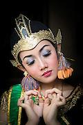 Dancer at the Kraton of Yogyakarta, Yogyakarta, Yogyakarta Special Region, Java, Indonesia, Southeast Asia