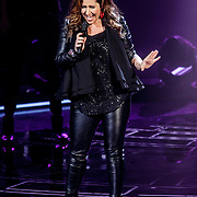 NLD/Hilversum/20141121- 2de Live The Voice of Holland, Gabriella Massa