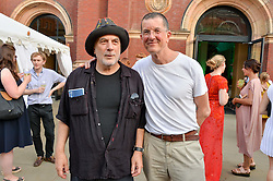 Ron Arad and Antony Gormley at the V&A Summer Party 2017 held at the Victoria & Albert Museum, London England. 21 June 2017.
