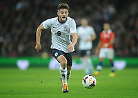 Football - 2013 International Friendly - England vs. Chile<br /> Debut boy Adam Lallana - England  at Wembley.<br /> <br /> COLORSPORT/ANDREW COWIE