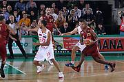 DESCRIZIONE : Treviso Lega A 2011-12 Umana Venezia EA7 Emporio Armani Milano<br /> GIOCATORE : Bowers Tim<br /> SQUADRA : Umana Venezia EA7 Emporio Armani Milano<br /> EVENTO : Campionato Lega A 2011-2012 <br /> GARA : Umana Venezia EA7 Emporio Armani Milano<br /> DATA : 11/12/2011<br /> CATEGORIA : Passaggio<br /> SPORT : Pallacanestro <br /> AUTORE : Agenzia Ciamillo-Castoria/G.Contessa<br /> Galleria : Lega Basket A 2011-2012 <br /> Fotonotizia : Treviso Lega A 2011-12 Umana Venezia EA7 Emporio Armani Milano<br /> Predfinita :